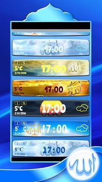 Allah Clock Weather Widget screenshot 2