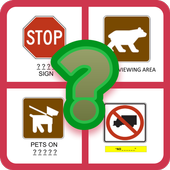 American Road Sign Quiz Game icon