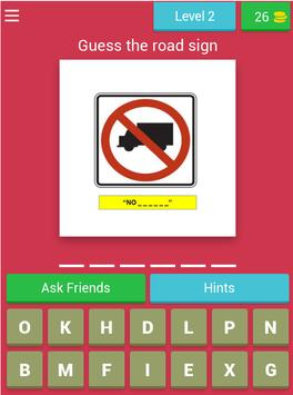 American Road Sign Quiz Game screenshot 11