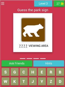 American Road Sign Quiz Game screenshot 13