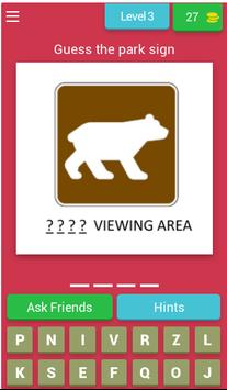 American Road Sign Quiz Game screenshot 2