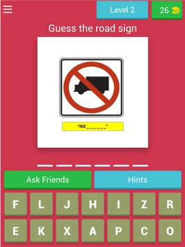 American Road Sign Quiz Game screenshot 6