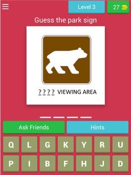 American Road Sign Quiz Game screenshot 8