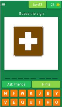 US Park Sign Quiz Game screenshot 2