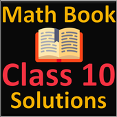 Class 10 math NCERT books and solutions icon