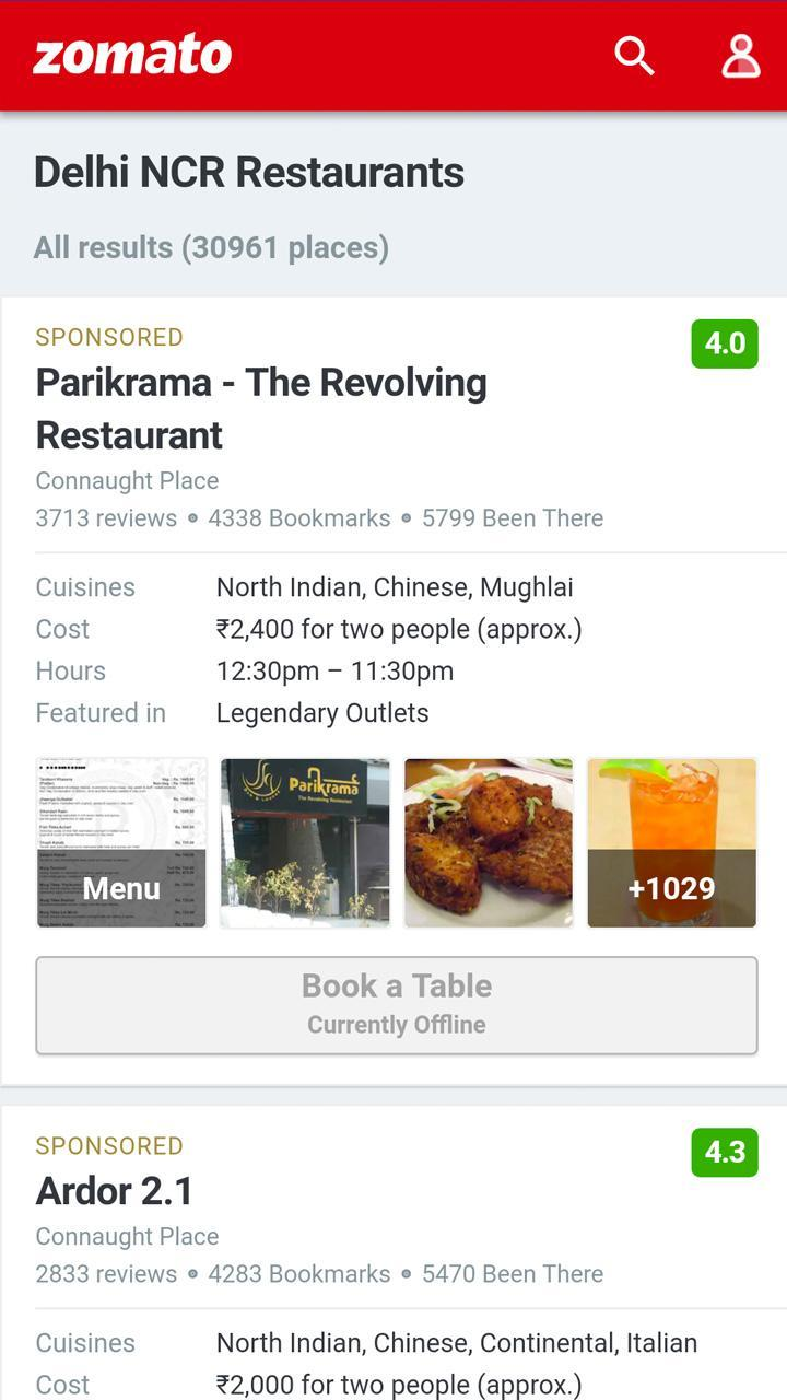 All In One Food Ordering App, Online Food Delivery for