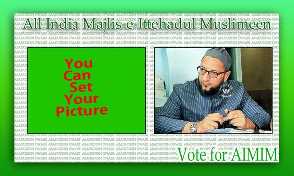 AIMIM Photo Frame poster