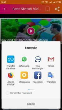 Pinterest Status Video : Daily Status Auto Update screenshot 4