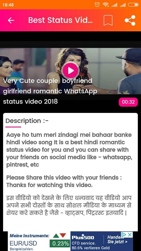 new hindi video song download for whatsapp status