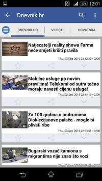 Hrvatska Vijesti 截圖 1