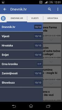 Hrvatska Vijesti 截圖 2