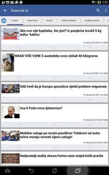 Hrvatska Vijesti 截圖 9