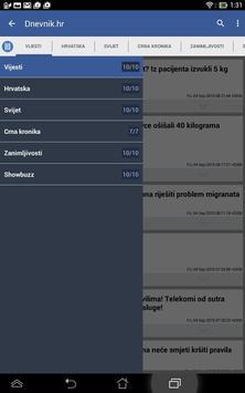 Hrvatska Vijesti 截圖 10