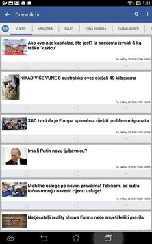 Hrvatska Vijesti 截圖 5