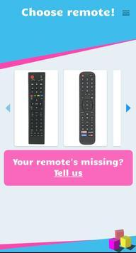 Remote Control for Hisense Smart TV screenshot 1