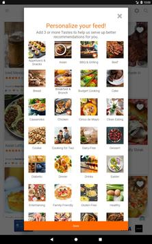 Allrecipes Dinner Spinner تصوير الشاشة 8