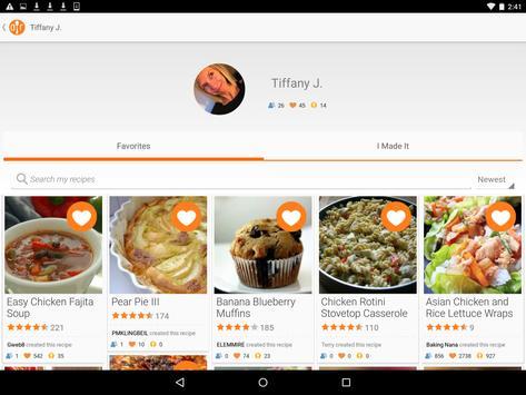 Allrecipes Dinner Spinner تصوير الشاشة 11