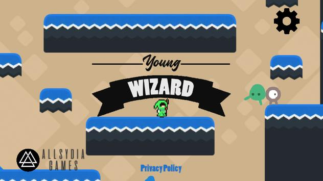 Young wizard poster