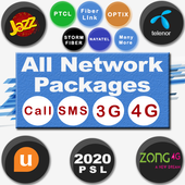 All Network Packages 2020 (Jazz Zong Ufone Telenr)