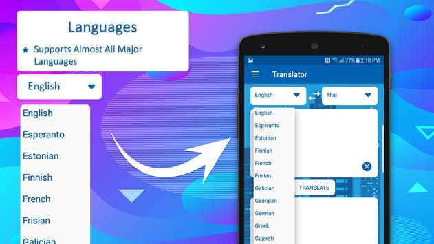 Free Translator: All Languages Translator 2019 screenshot 9