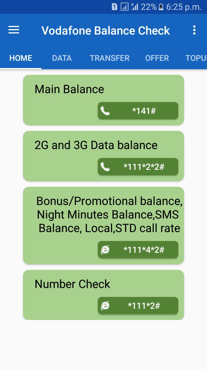 Vodafone Balance Check for Android - APK Download