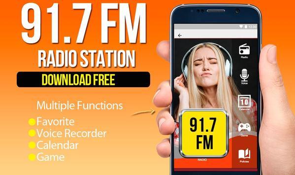Radio 91.7 FM poster