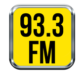 93.3 radio station icon