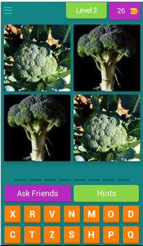 Vegetables Quiz- learn english screenshot 2
