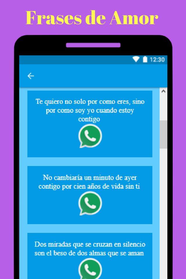 Frases De Amor для андроид скачать Apk