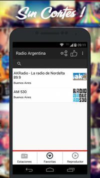 Radios de Argentina AM FM imagem de tela 4