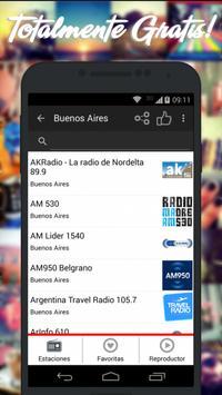 Radios de Argentina AM FM imagem de tela 5