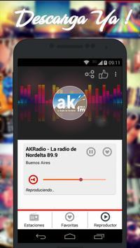 Radios de Argentina AM FM imagem de tela 1