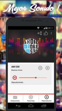 Radios de Argentina AM FM imagem de tela 2