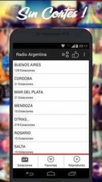 Radios de Argentina AM FM imagem de tela 3