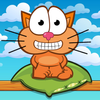 Hungry cat: physics puzzle game ikona