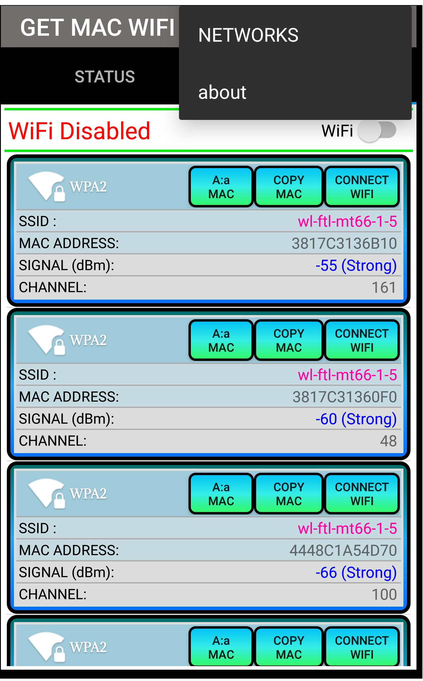 Get Mac WiFi for Android - APK Download