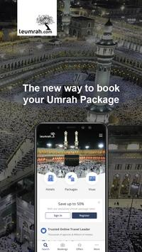 Leumrah.com: Umrah Packages, Hotels & Flights poster