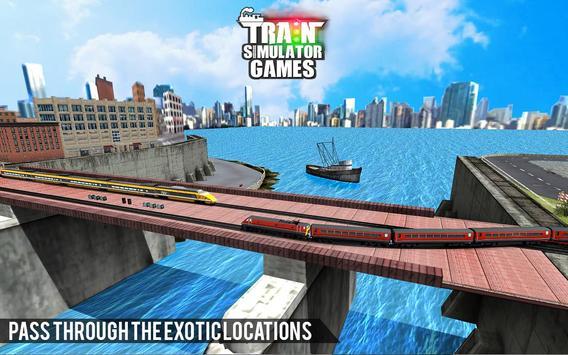 City Train Driver Simulator 2021:Free Train Games screenshot 8