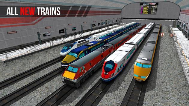 City Train Driver Simulator 2021:Free Train Games poster