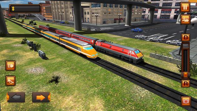 City Train Driver Simulator 2021:Free Train Games screenshot 12