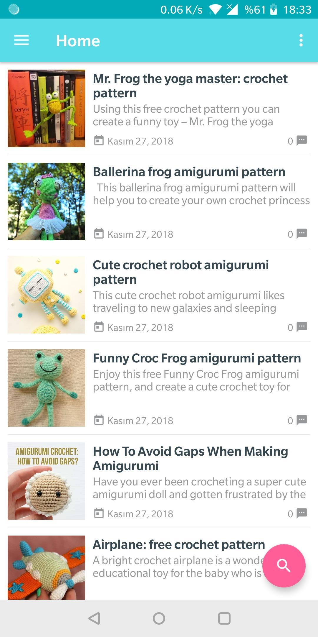 Amigurumi Patterns Free for Android - APK Download
