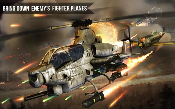 Army Gunship Helicopter poster