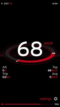 Speedometer One screenshot 1