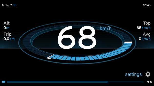 Speedometer One screenshot 2