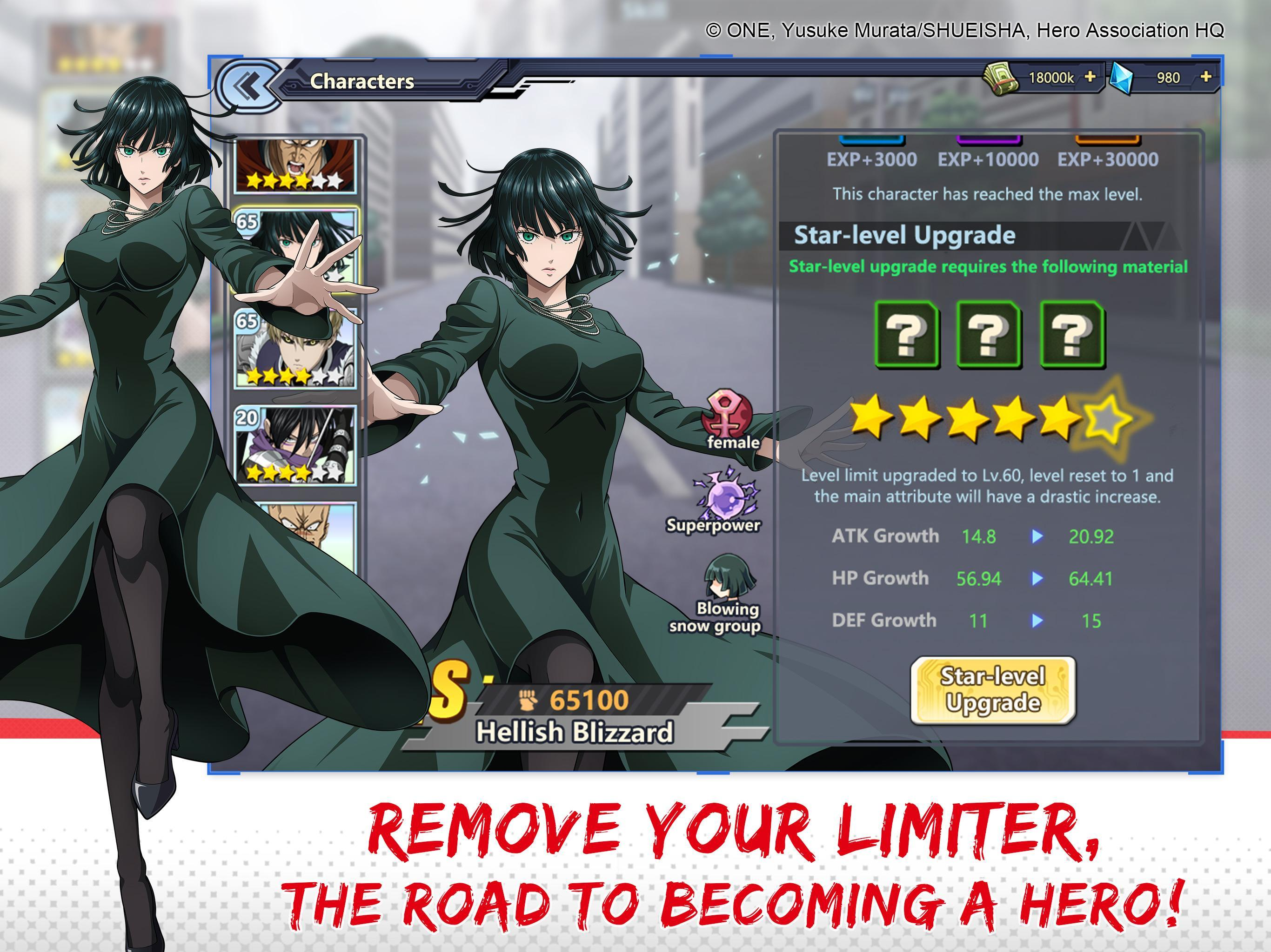 one punch man online game moved roblox One Punch Man Road To Hero For Android Apk Download