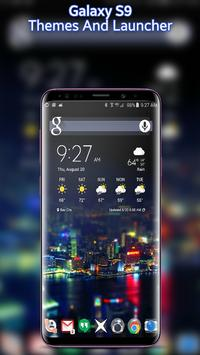 Themes for Samsung S9 edge: S9 launcher wallpaper for Android - APK
