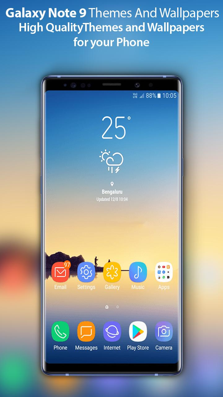 Themes For Samsung Galaxy Note 9 Wallpaper Note 9 For Android Apk