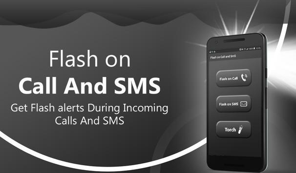 Flash on call and sms: Flashlight led torch light screenshot 3