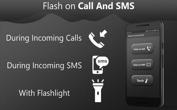 Flash on call and sms: Flashlight led torch light screenshot 4