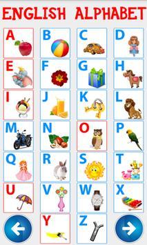 Английский алфавит. Учим буквы screenshot 6